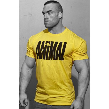 Universal Clothing & Gear Animal Iconic T-Shirt - Yellow Medium for $<!---->
