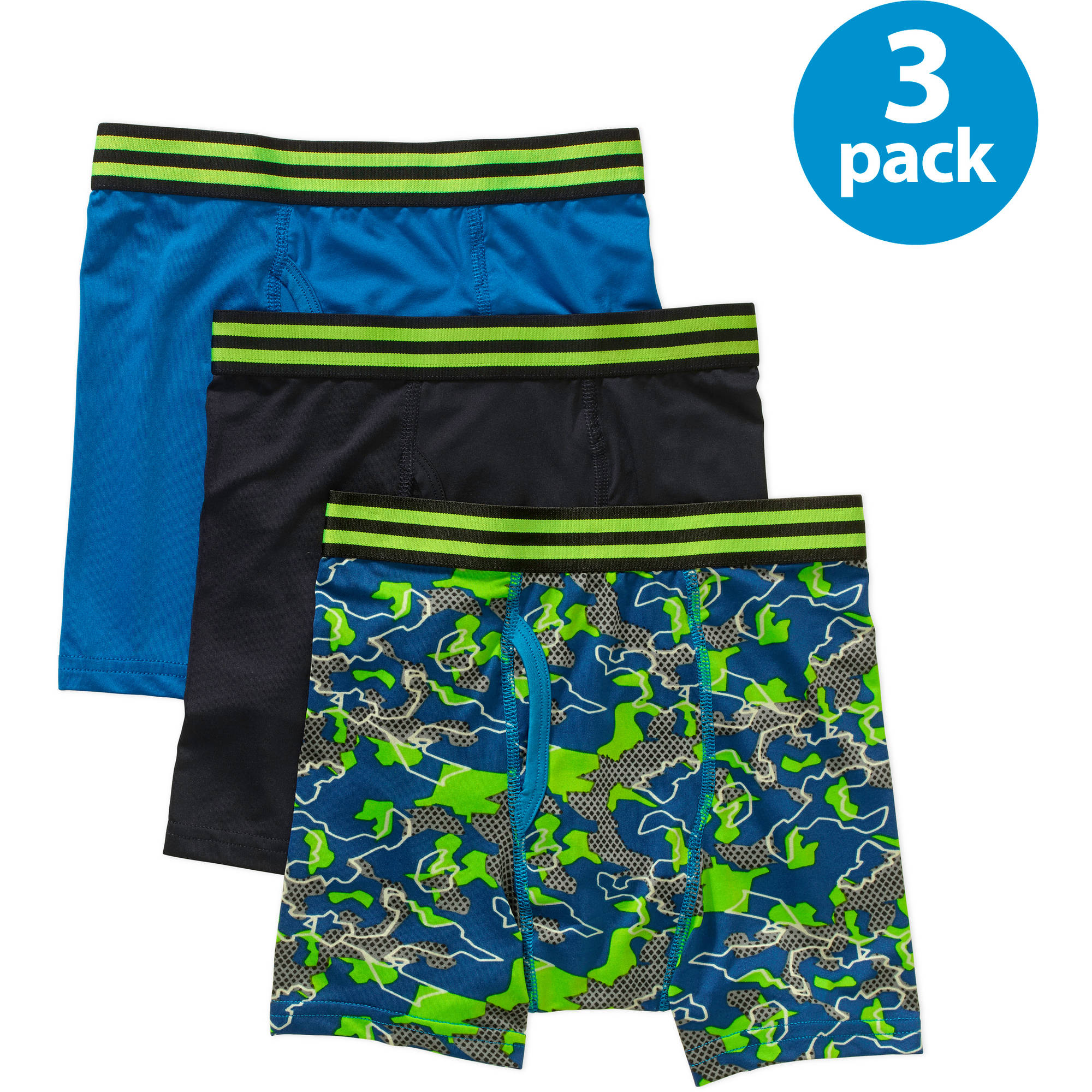 Starter Boys Printed Boxer Brief, 3 Pack