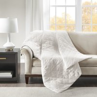 """Beautyrest Deluxe 60"""" x 70""""-12lbs Quilted Cotton Weighted Blanket"""