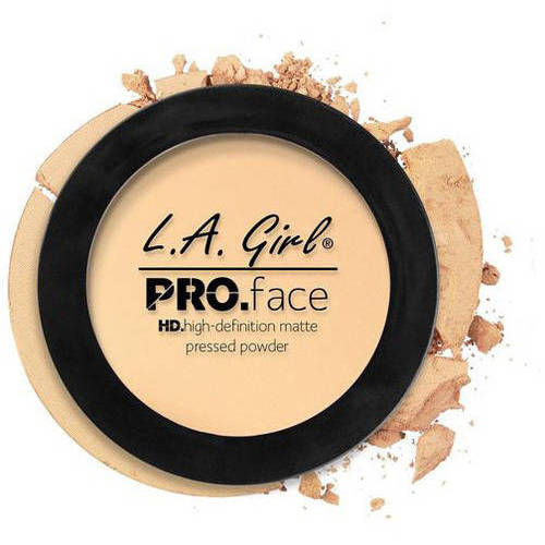 L.A. Girl PRO.Face HD High-Definition Matte Pressed Powder, Classic Ivory