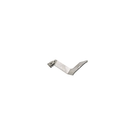 MACs Auto Parts Premier Products 49-16574 Stromberg Carburetor Choke Cable  Bracket - Stainless Steel - For Stromberg 97, 81 Or 48