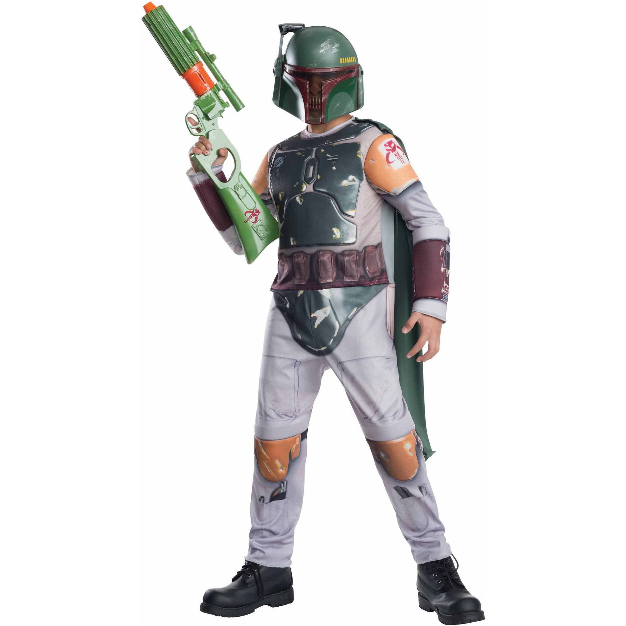 sc 1 st  Walmart & Star Wars Boba Fett Child Dress Up / Role Play Costume - Walmart.com