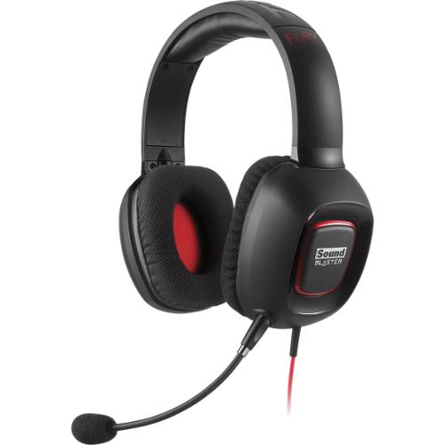 Creative Sound Blaster TACTIC3D Fury Dual Mode Gaming Headset for PS4 & Xbox One