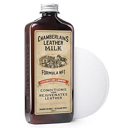Chamberlain's Leather Care Liniment Formula No. 1 Leather Conditioner - 12 Ounces