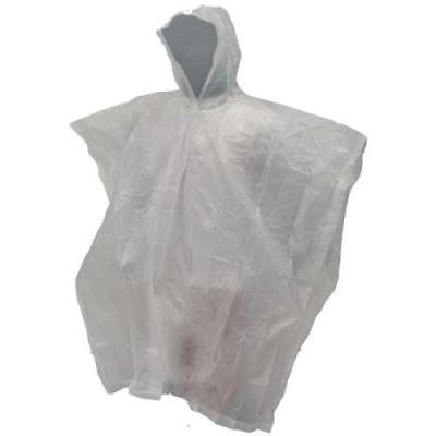 Frogg Toggs Men's Emergency Poncho, Clear, 2Pack by