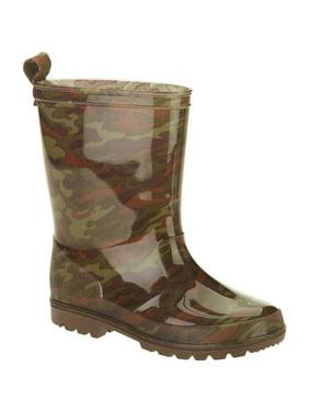 Camo Printed Boys' Jelly Rain Boots