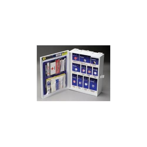 American Red Cross 1050-Rc-0103 112-Piece Medium First Aid General Business Sc Cabinet - Metal