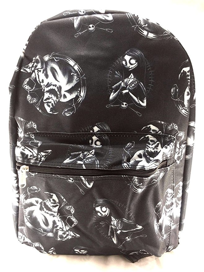 Disney Nightmare Before Christmas Sally Allover Print Backpack -Sally