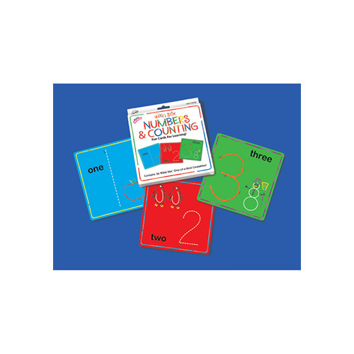 Wikki Stix Wikki Stix Numbers & Counting Cards (Set of 36)