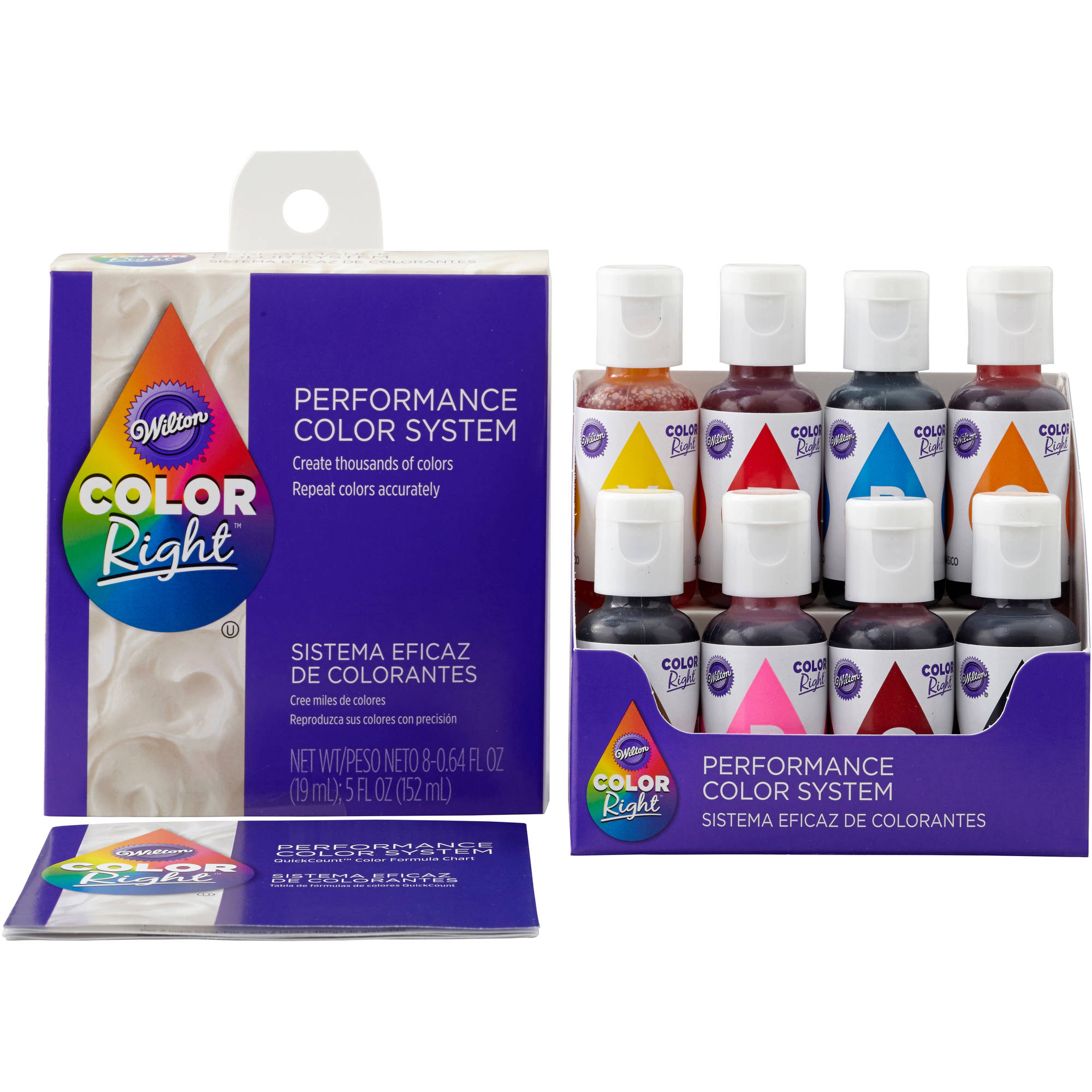 Wilton Color Right Performance Color System 601-6200