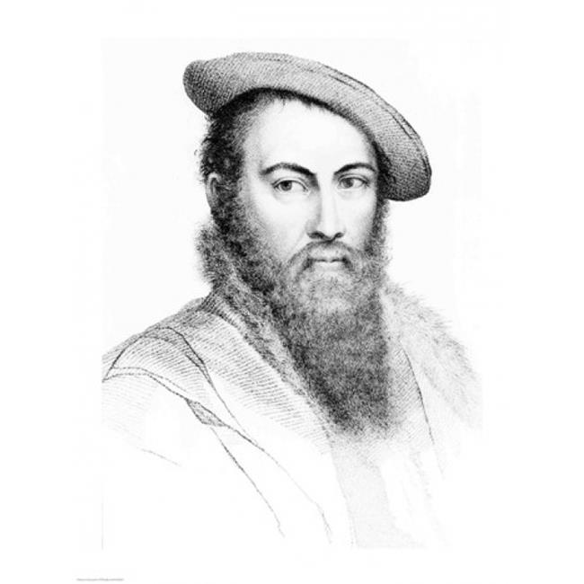 Sir Thomas Wyatt Poster Print by Hans Holbein - 24 x 36 in. - Large - image 1 de 1
