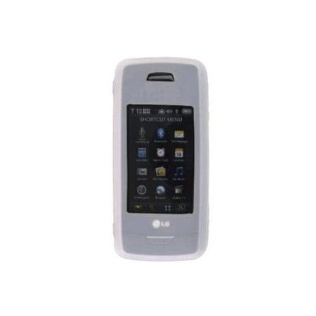 Lg Vx10000 (Premium Silicone Gel Case for LG VX10K, VX10000 - Clear )