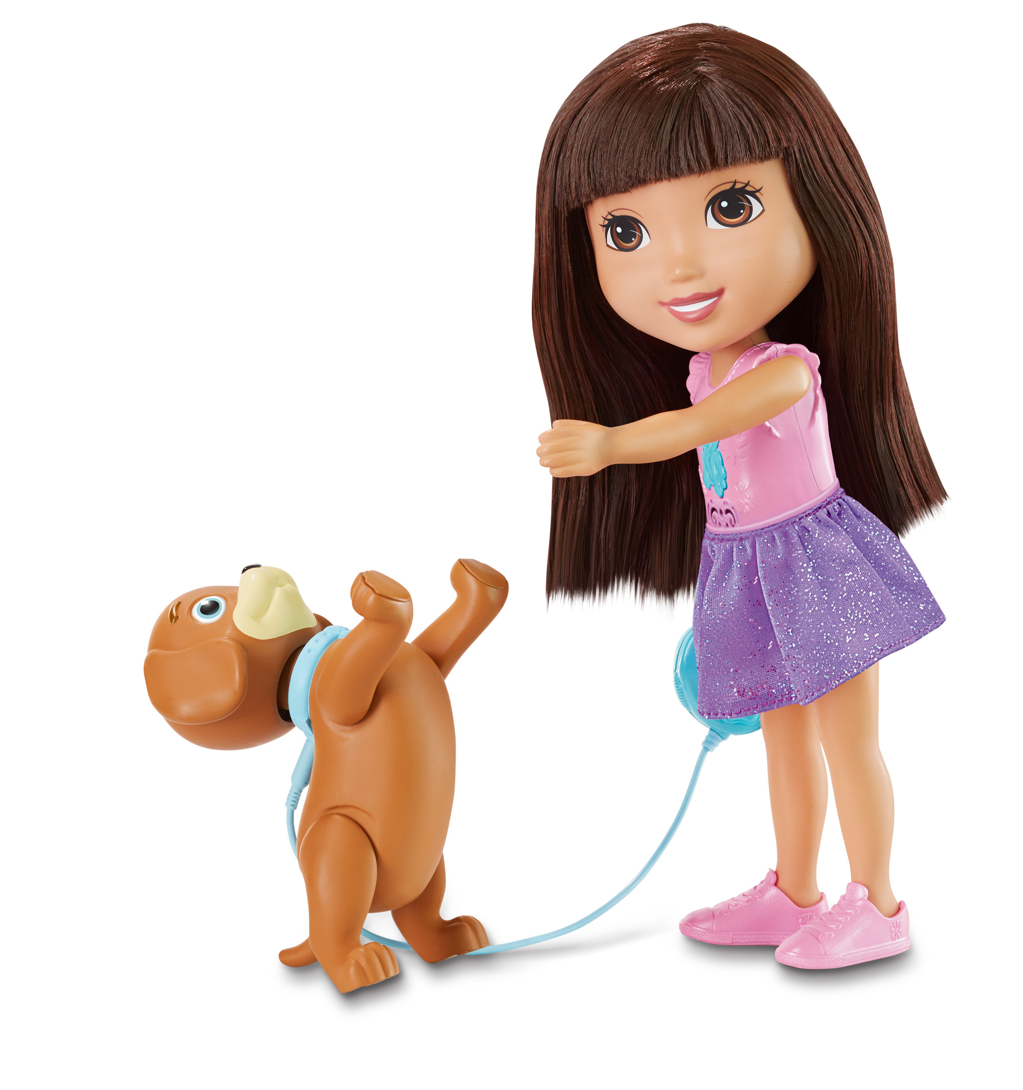 Fisher Price Nickelodeon Dora and Friends Train and Play Dora and Perrito by FISHER PRICE