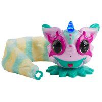 Pixie Belles - Rosie (Pink) - Interactive Enchanted Electronic Pet with Bonus Tail