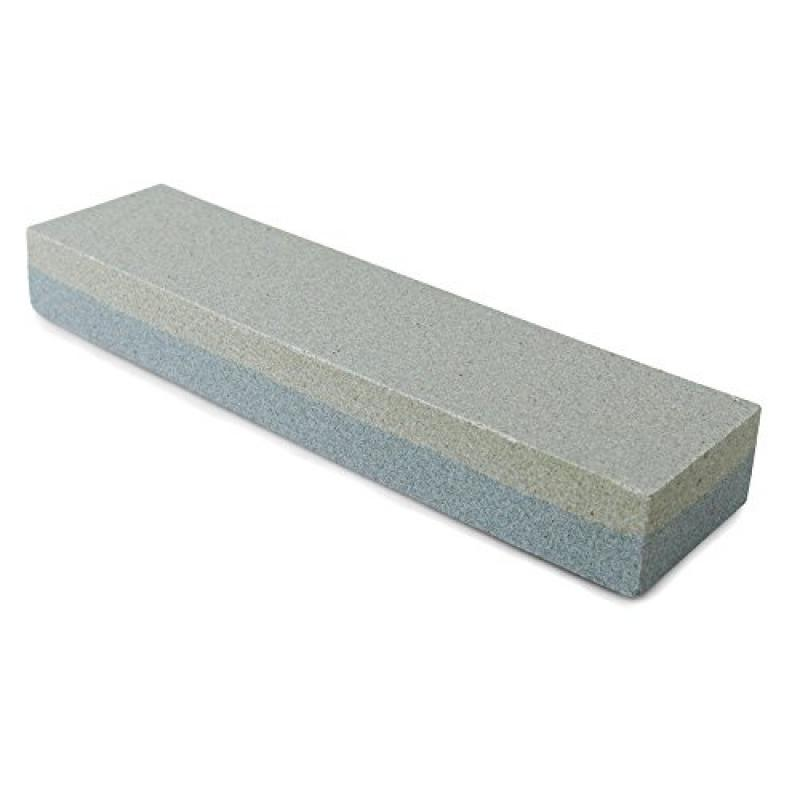 """New Star Foodservice 36480 Combination Sharpening Stone Knife Sharpener, 8"""" x2""""... by"""