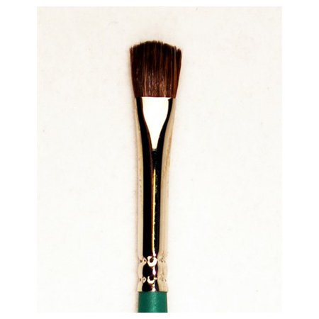 SILVER BRUSH LIMITED 6819S14 CRYSTAL GOLDEN TAKLON CLEAR SHORT HANDLE MINI OVAL MOP