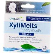 Xylimelts pour bouche sèche-taille M 40ct