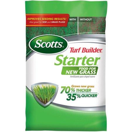 Scotts Turf Builder Starter Fertilizer For New Lawns