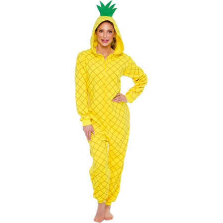 Art Piece Halloween Costume (Silver Lilly Slim Fit One Piece Pineapple Cosplay Halloween Costume)
