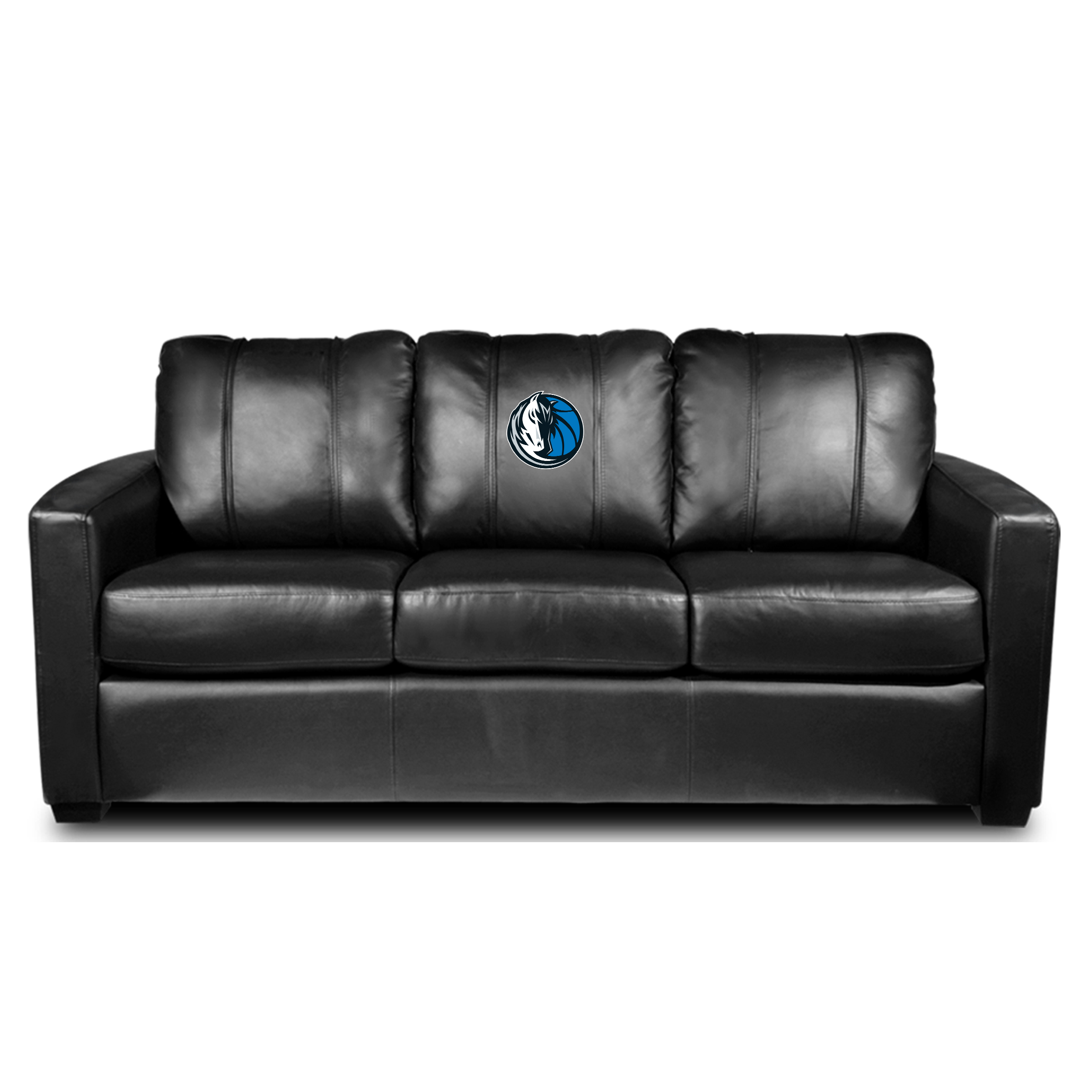 Dallas Mavericks NBA Silver Sofa