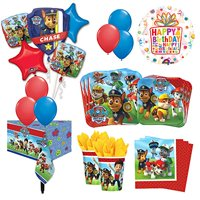 The Ultimate 8 Guest 53pc Paw Patrol Birthday Party Supplies and Balloon Deco...