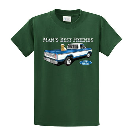 d619c460f Trenz Shirt Company - Ford T-Shirt Man's Best Friends - Walmart.com