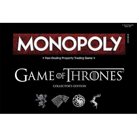 Monopoly Game of Thrones Board Game | Collectable Monopoly Game | Official Game of Thrones Merchandise | Based on The Popular TV Show on HBO Game of Thrones | Themed Monopoly Board Game - Beach Themed Games