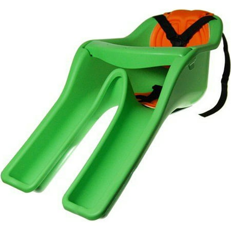 iBert Safe-T-Seat w/ New Padded Front-Mounted Child Bicycle Seat in Green