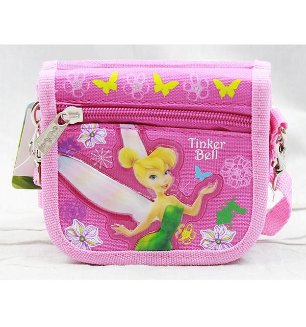 String Wallet Pink Tinker Bell Disney