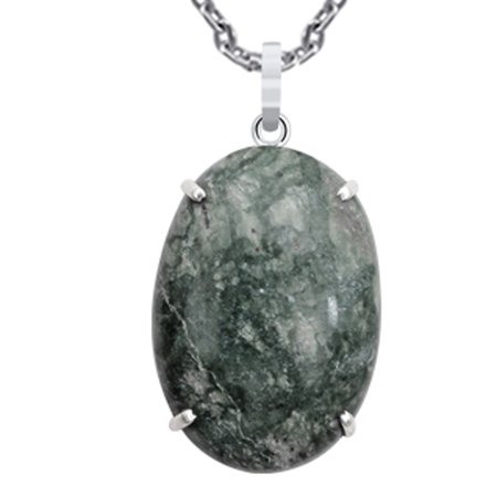 85 Ct Ocean Jasper Stone Perfect Pendant 925 Sterling Silver By Orchid Jewelry (Ocean Jasper Gemstone Pendant)