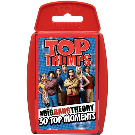 Top Trumps Big Bang Theory Card Game