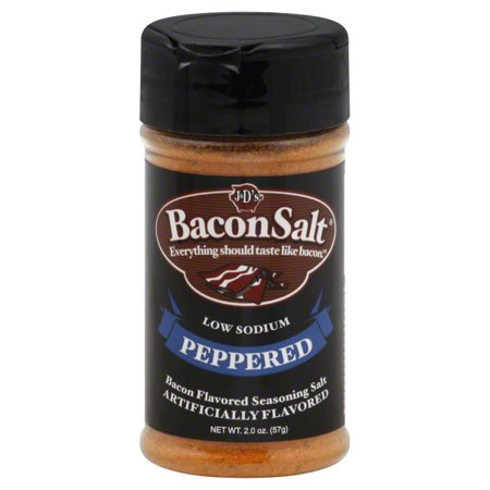 J & Ds Bacon Salt, Peppered ()