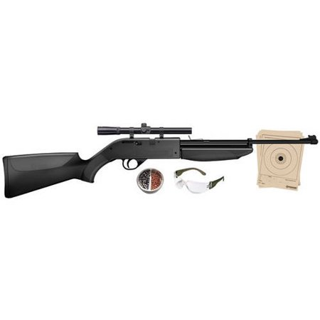 Crosman 760 Pumpmaster .177 Caliber Multi-Pump Air Rifle with Scope, includes Kit