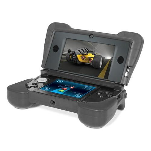 Dreamgear Dg3ds-4216 Portable Gaming Console Skin - Portable Gaming Console - Black - Silicone (dg-dg3ds-4216)