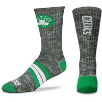 Boston Celtics For Bare Feet Quad Crew Socks - L