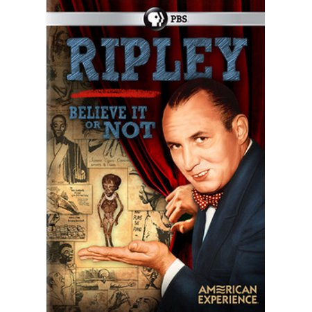 American Experience: Ripley - Believe It or Not (DVD)](Ripley Halloween)
