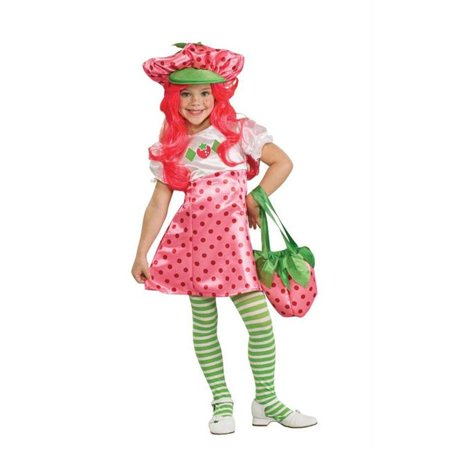 Costumes For All Occasions Ru883489Sm Strawberry Shortcake Dlx - Halloween Strawberry Shortcake