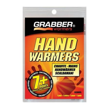 2 Pack Grabber Heat 7hr HAND WARMER Gloves, Boots, Instant Heat 2 per Pack each