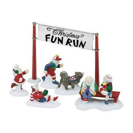 department 56 north pole series : christmas fun run 56.56434 56 North Pole Series