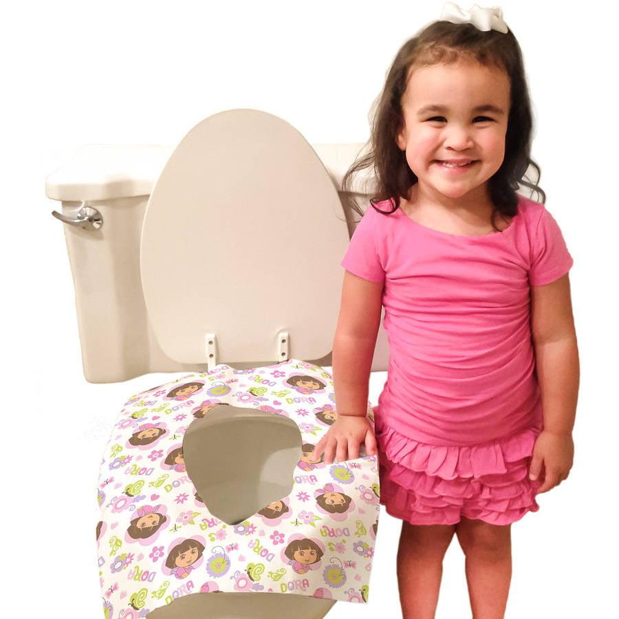Dora the Explorer Disposable Toilet Seat Covers, 40 Count