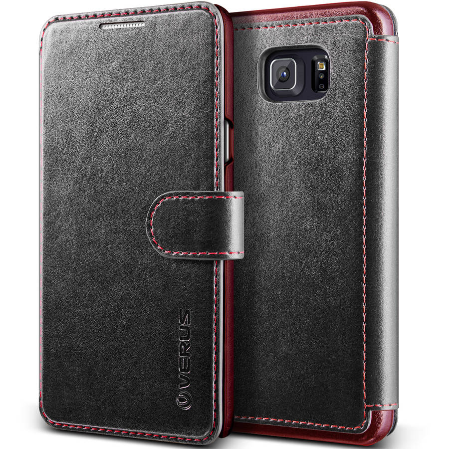 Verus Layered Dandy Premium Vintage PU Leather Wallet Case for Samsung Galaxy Note 5