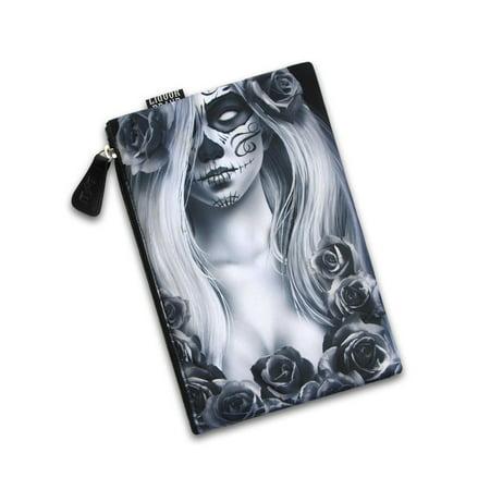 Liquorbrand Love Sexy Zombie Monster Tattoo Unisex Cosmetic Make-up Travel Bag (Monster Tattoo)