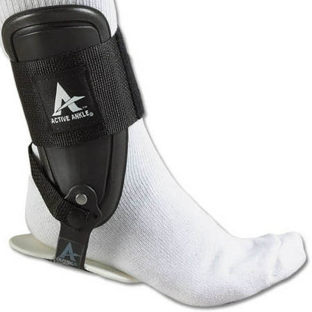 Active Ankle T2 Rigid Ankle Brace, Black, Small