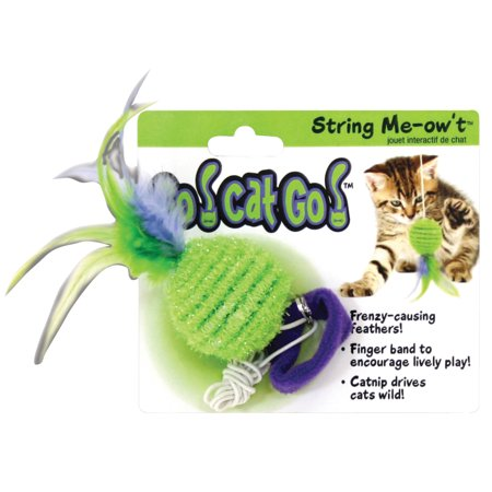 Kong Company Cat (Ourpets Company-Go Cat Go String Me-ow't- Multicolored)