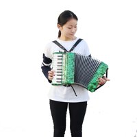 FAGINEY IRIN 22-Key 8 Bass Piano Accordion Musical Instrument for Beginners Students, Bass Piano, Beginner Accordion