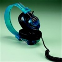 Deluxe Monaural Headset, Blueberry