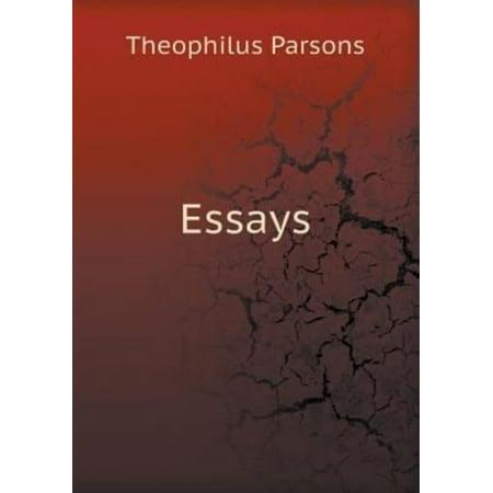 Essays by Theophilus Parsons Paperback Book - image 1 de 1