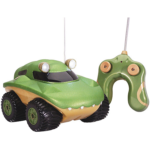 Kid Galaxy Morphibians Gator Radio-Controlled Vehicle, 27mhz by Kid Galaxy