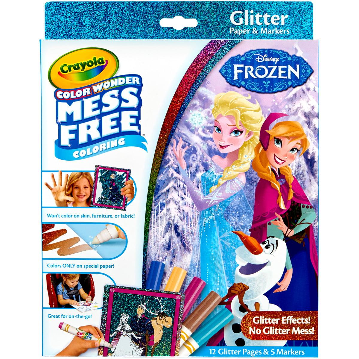 Crayola Color Wonder Glitter Set - Frozen
