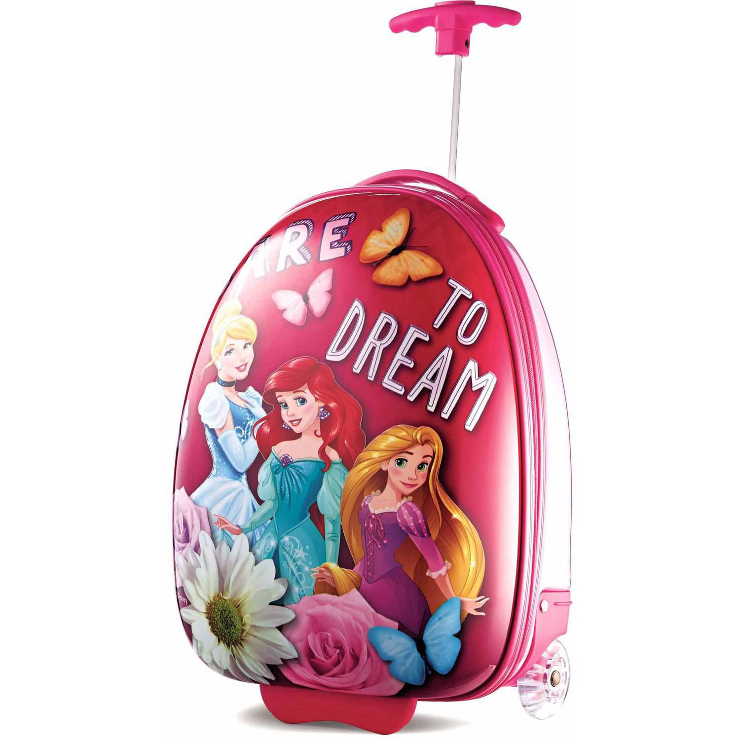 "American Tourister Disney Princess 18"" Upright Hard Side Suitcase"